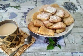 Готовим нежнейшее слоёное печенье из творога (рецепт с фото)