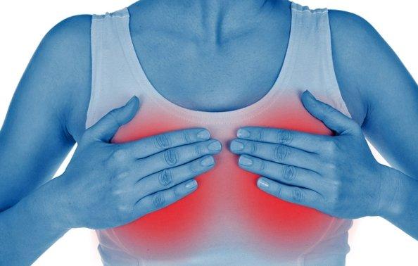 Почему болит грудь: мастопатия