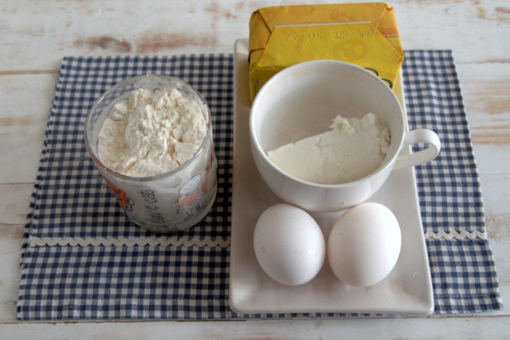 Творожно-песочное тесто (для галеты, пирога, тарта, печенья). Пошагово с фото