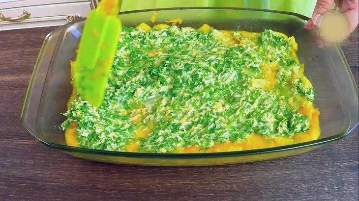 Фриттата из кабачков