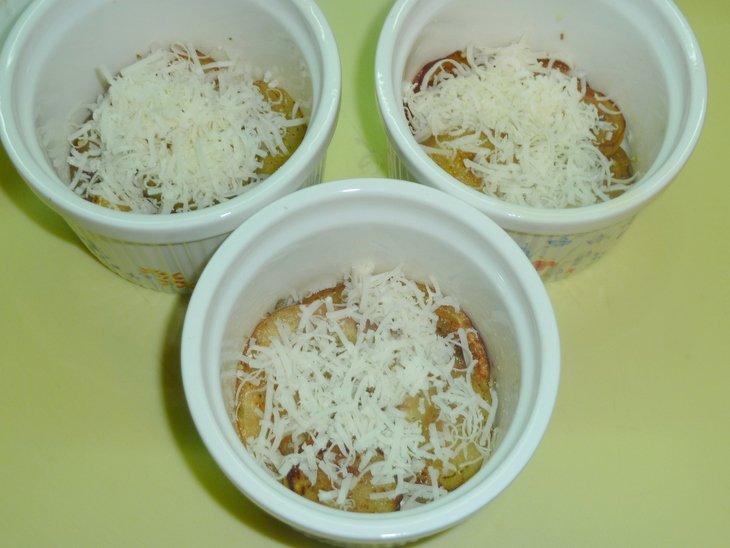 Баклажаны запеченные в томатном соусе (почти саганаки)