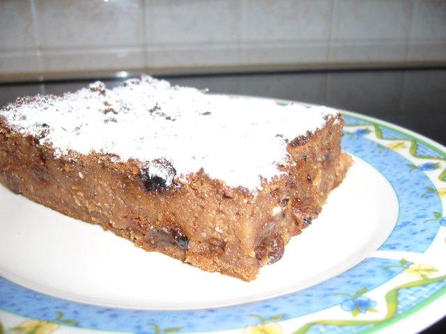 Хлебно - молочный торт