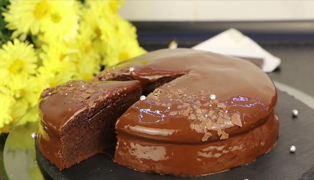 Мега шоколадный пирог