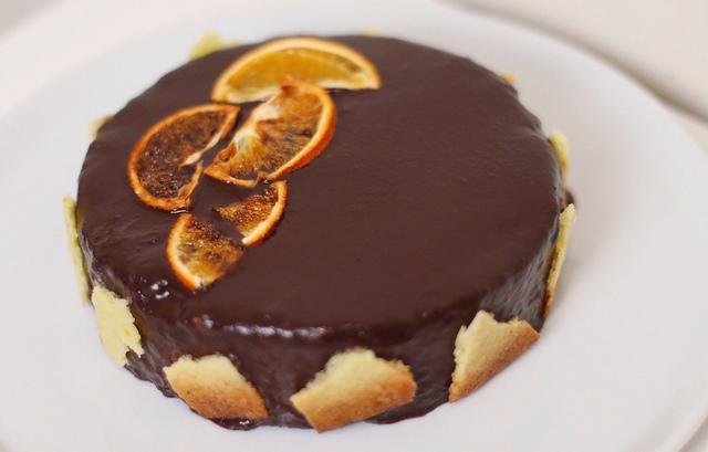 Торт шоколад - апельсин