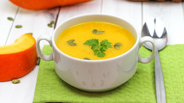 Диетический суп - пюре из тыквы