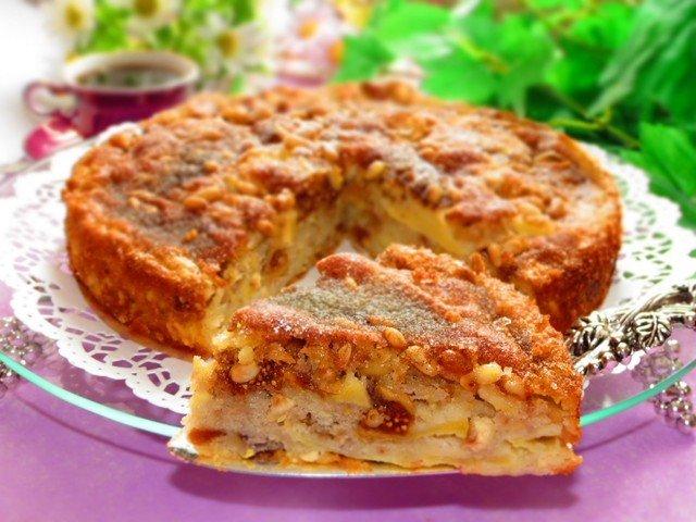 Сицилийский яблочный торт