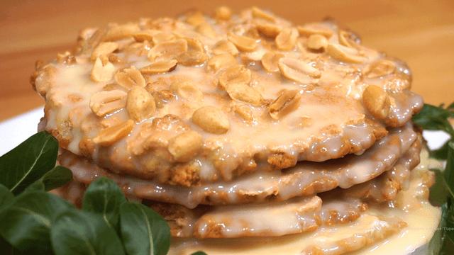 Торт по-королевски с орехами
