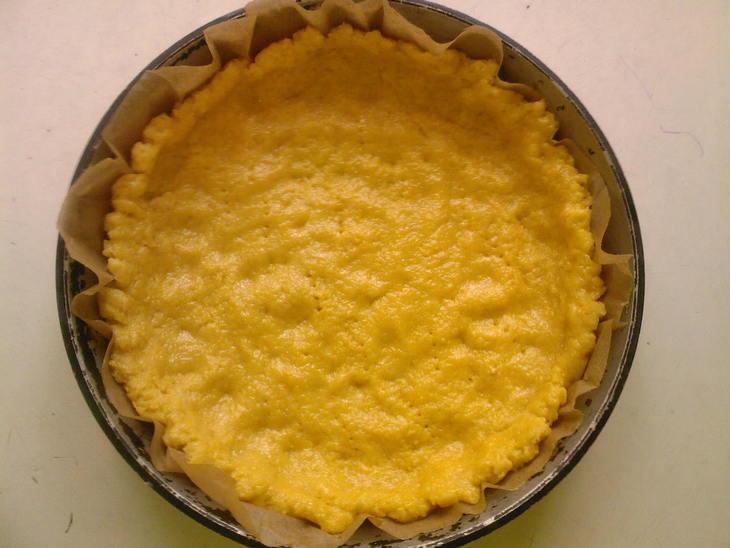 Итальянский пирог с безе и апельсиновым кремом