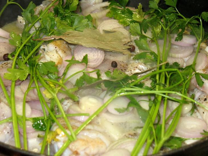 Тортик-паста с рыбой и брокколи