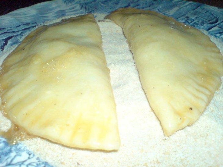 Пирожки с грибами по-итальянски