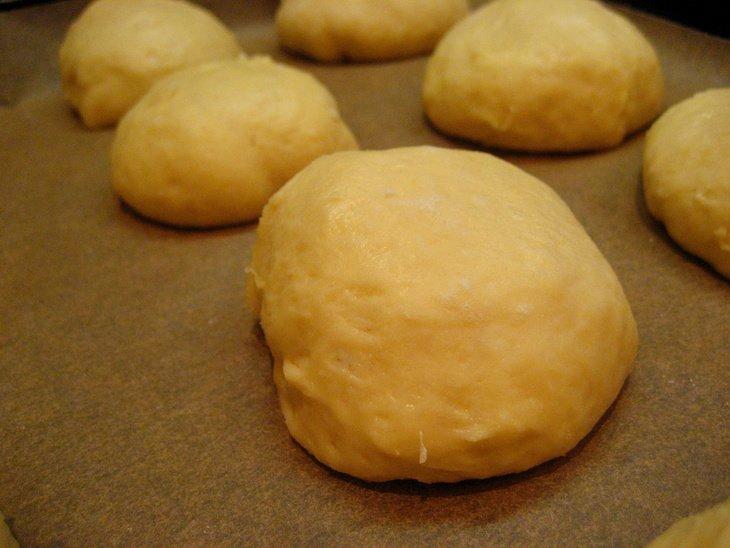 Венецианские булочки с кремом из лимончелло