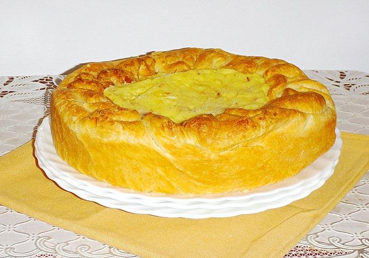 Апулийский картофельный пирог