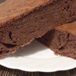 Шоколадный бисквит - простой рецепт