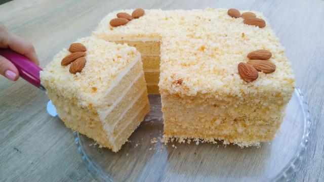 Стаканчиковый торт за 30 минут