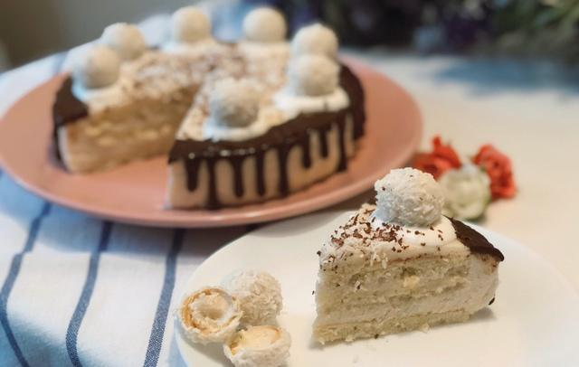 Муссовый торт рафаэлло