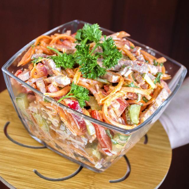 Салат с идеальным сочетанием ингредиентов