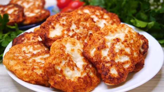 Мясные оладушки - идеально для перекуса вместо пирожков