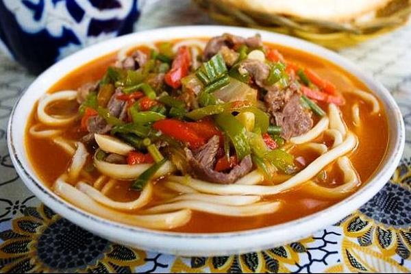 Легендарный суп Лагман домашнего приготовления