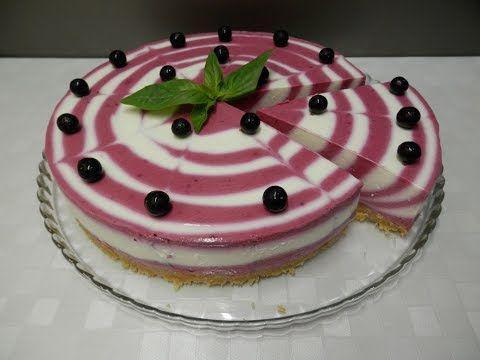 Самый простой и очень красивый творожный тортик без выпекания