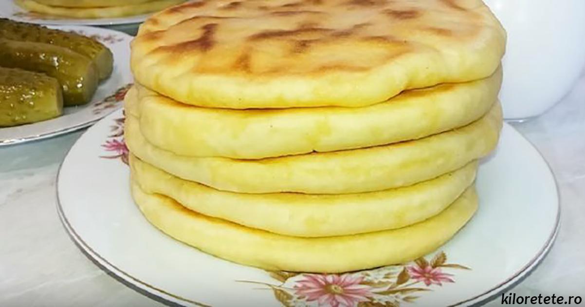 Простые и вкусные лепёшки с картофелем и луком