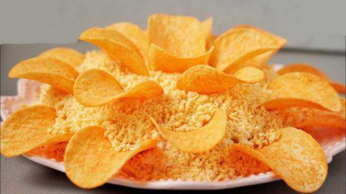 «Хризантема» - какой красивый и оригинальный салатик
