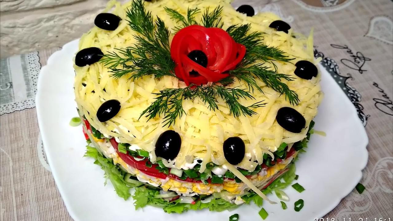 5 вариантов простых и изысканных французских салатов