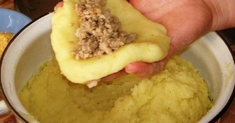 Идеальные картофельные зразы с мясом