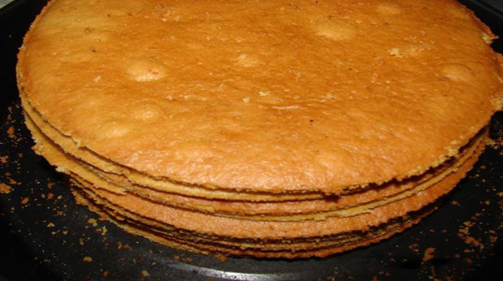 Рецепт самых быстрых и вкусных медовых коржей для идеального торта