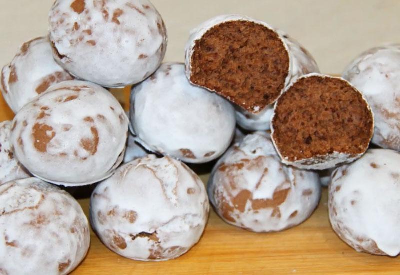 Ароматнейшие молочные пряники с какао