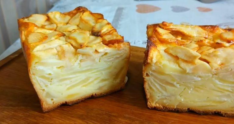 Этот нежный пирог готовить проще Шарлотки, а получается вкуснее