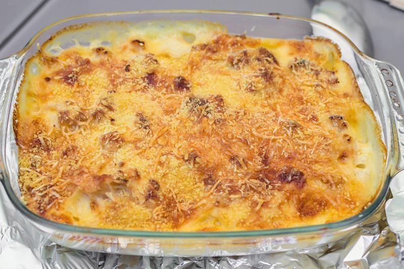 Итальянская запеканка из куриной печени с сыром