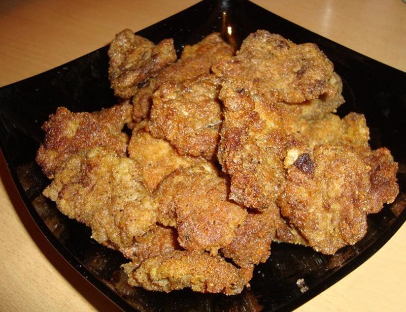 Готовим вкуснейшие недорогие отбивные из куриных сердечек